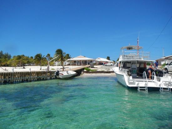 Cayman Brac Beach Resort Dive Boat Dock And