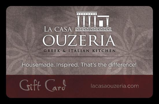 La Casa Ouzeria Restaurant: La Casa Gift Card