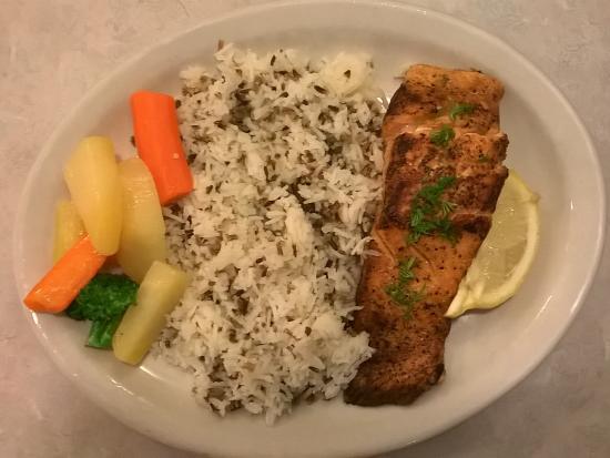 Crystal Beach Restaurant: Dinner