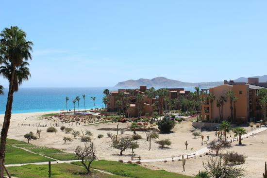 Casa Del Mar Beach Condos: View from Coral Villa towards the beach