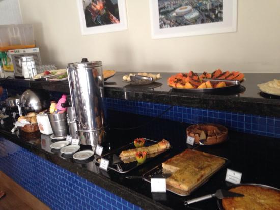 Hit Hotel: Café da Manhã variado