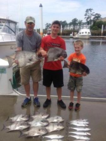 Myrtle Beach Fishing Charters For King Mackerel Picture