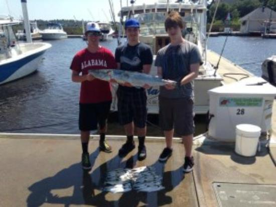 Myrtle beach inshore fishing charters for black drum for North myrtle beach fishing