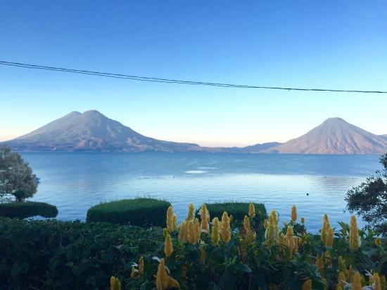 Hotel Posada de Don Rodrigo Panajachel: Wonderful view of Lake Atitlan