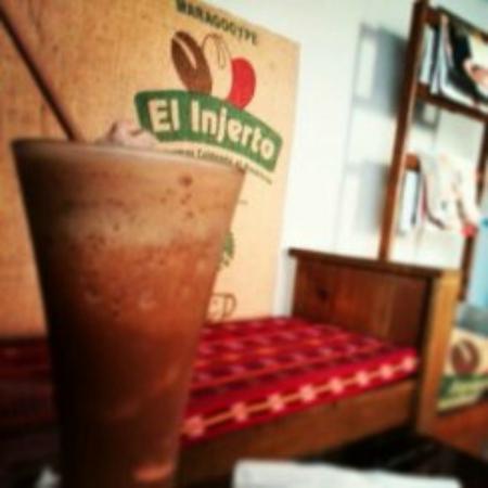 El Injerto Cafe: Delicioso!!