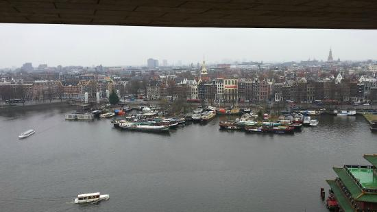 Foto De Biblioteca Central ámsterdam Vista Di Amsterdam