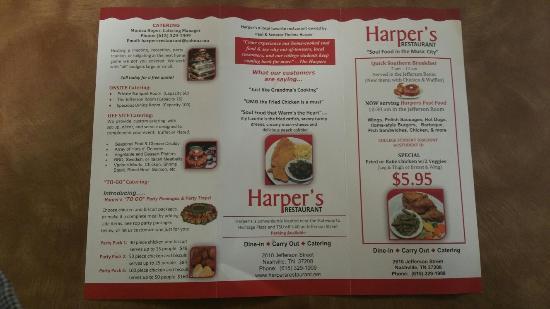 Harper's Rapid Dining