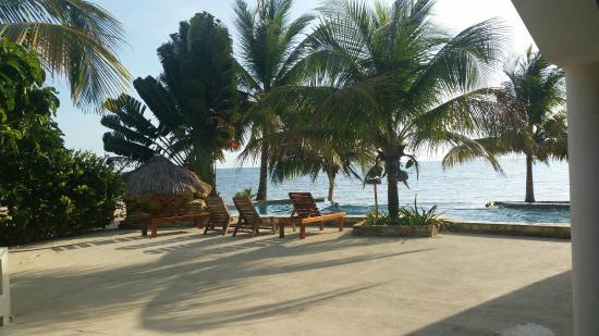 Los Porticos Villas: View from the front door