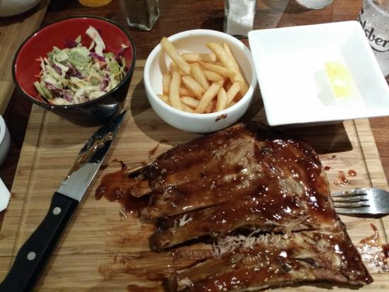 The Lincoln : Woodstock Pork Ribs