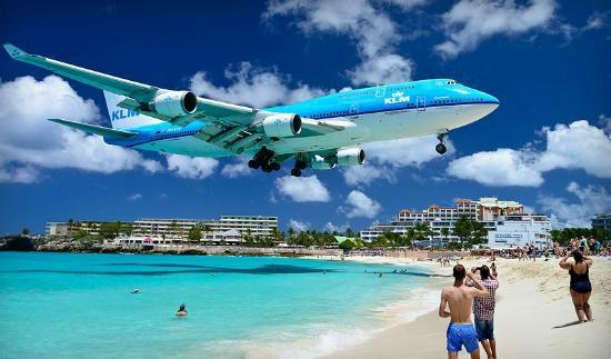 Sonesta Maho Beach Resort Spa Planes Above You