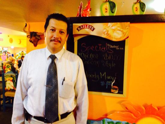Las Margaritas: Wonderful Owner always with Smile