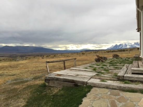Estancia Cerro Guido: View from the restaurant