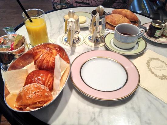 Ladurée New York Madison : 豪華な朝食