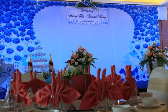 Saigon Hotel: Wedding Hall