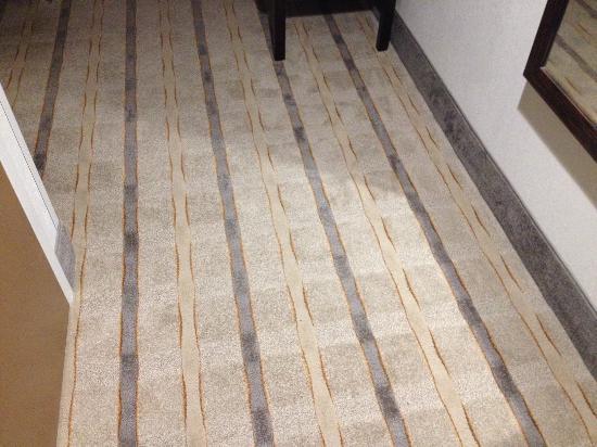 Hampton Inn Milledgeville: Carpet