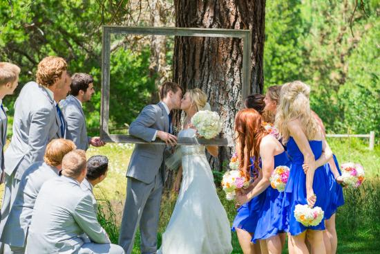 Pine River Ranch: Large Frame Photo for Weddings