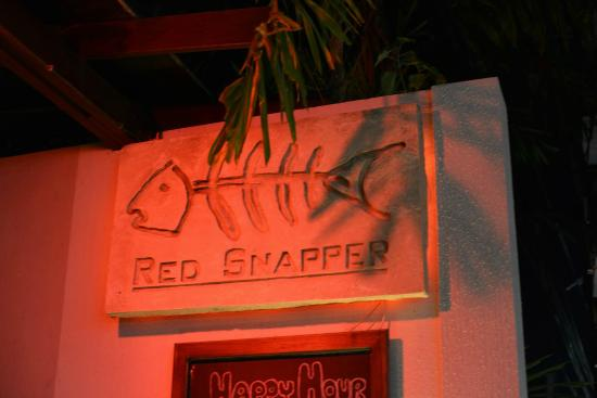 Red Snapper Restaurant & Bar : Red Snapper restaurant