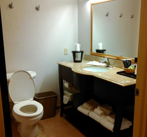La Quinta Inn & Suites Ft. Pierce: Bathroom