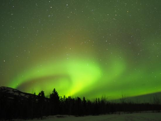 Aurora Borealis & Northern Lights Tours Yukon: Aurora Borealis in Whitehorse, March 2015