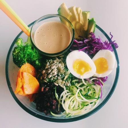 Communitea Cafe: Protein Power Bowl