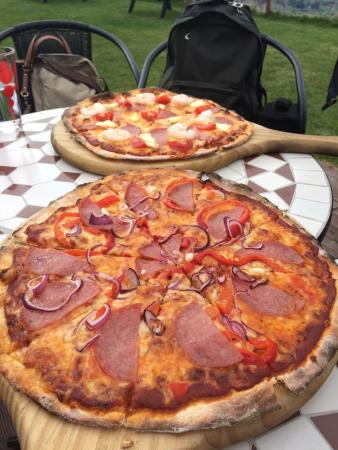 Hilltop Tavern: Delicious pizzas!!