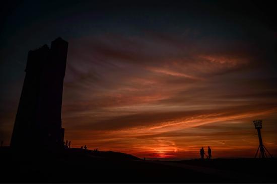 Castle Hill at sunset.   www.facebook.com/yolofoto