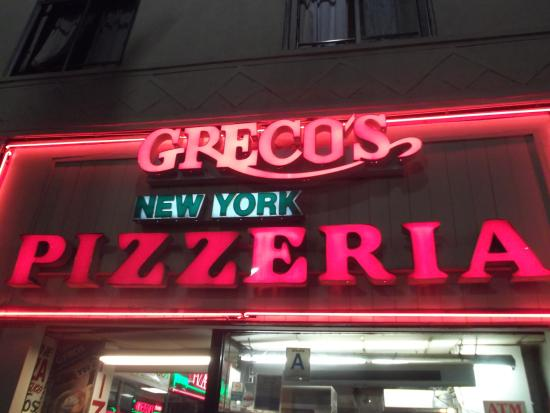 Photo of Pizza Place Grecos New York Pizza at 6814 Hollywood Blvd, Los Angeles, CA 90028, United States