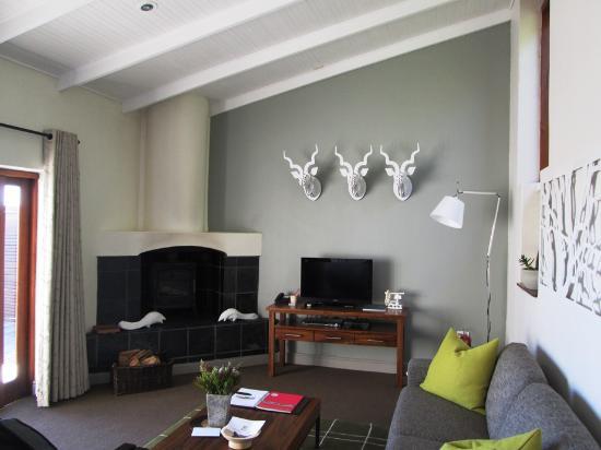 Grootbos Garden Lodge: Suite Lounge
