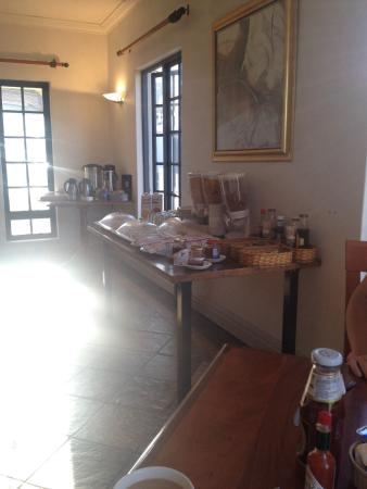 Panorama, South Africa: Breakfast