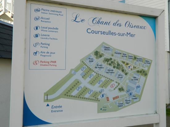 Pierre & Vacances Résidence Le Chant des Oiseaux : Map