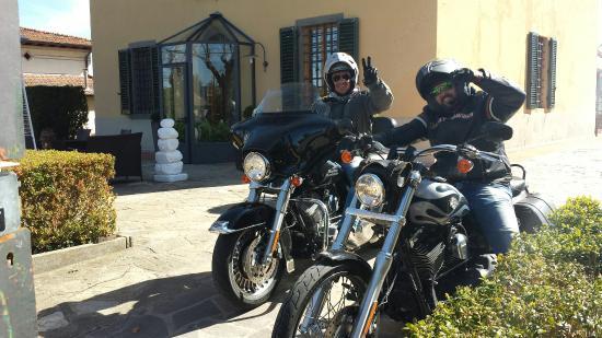 B&B Locanda di Pietracupa: splendido giro in Harley