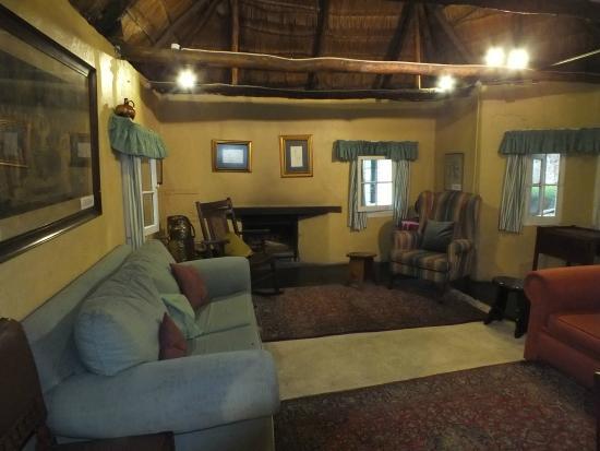 Waterberg Cottages: soggiorno