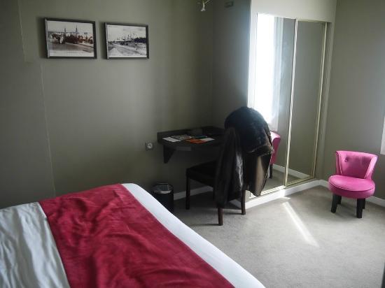 Hotel des Dunes : vue de la chambre