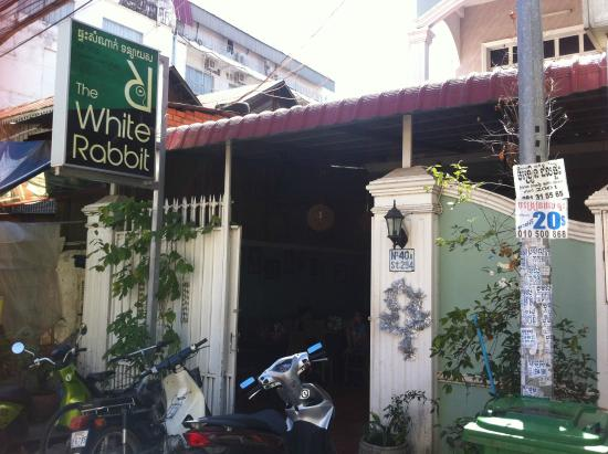 The White Rabbit Front Door