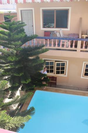 Ban Tyrol : Вид с балкона в общем корридоре