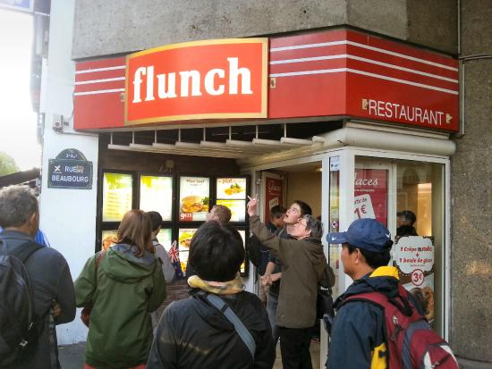 Flunch Paris Beaubourg : Flunch