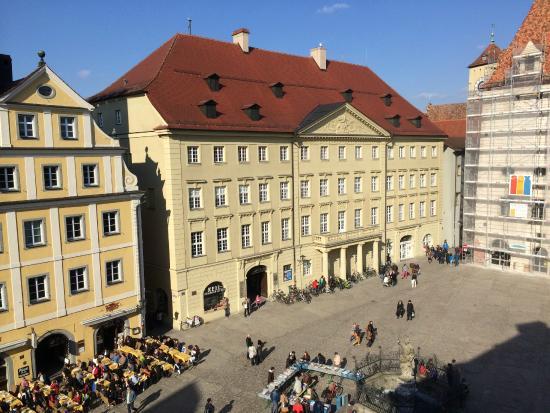 Altstadthotel Arch: Aussicht auf dem Haidplatz