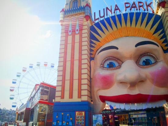 Luna park sydney picture of luna park sydney milsons for Puerta 9 luna park