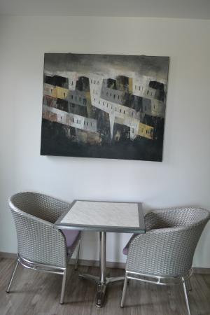 Adonis Carry le Rouet Residence Adriana: Petit salon que l'on a utilisé pour la terrasse