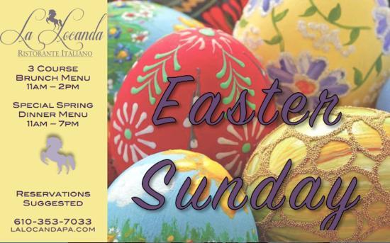 Ristorante La Locanda: Easter at La Locanda