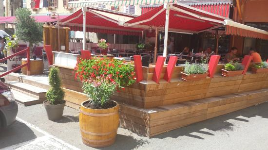 Brasserie Villa Cardinale : Vue extérieure de notre établissement
