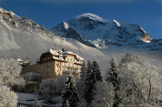 Hotel Regina Winter