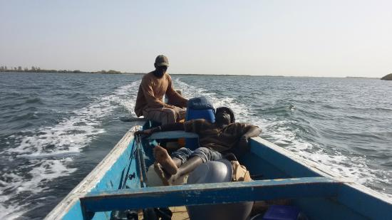 Essamaye : The tourguide and the driver