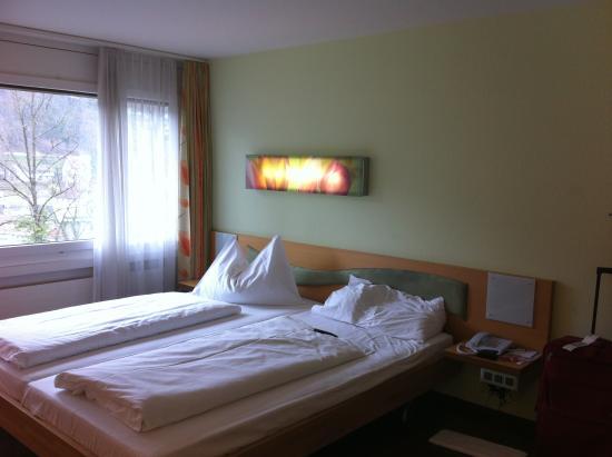 Hotel Du Parc: View of Room