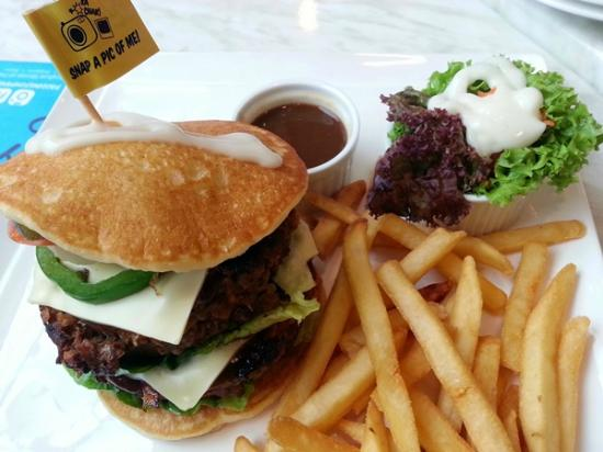 Mexican Double Burger - Picture of Paddington House of ...