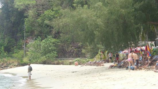 Kong Koi Beach: Beach front