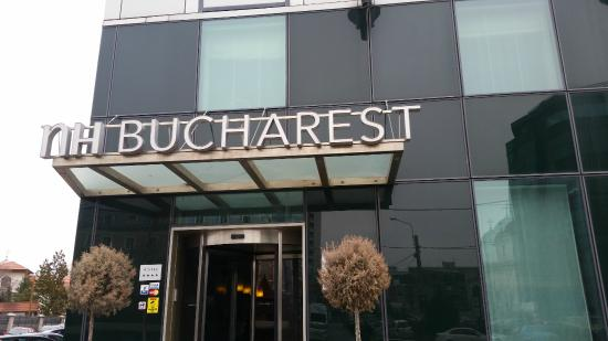 NH Bucharest: Hotel outside