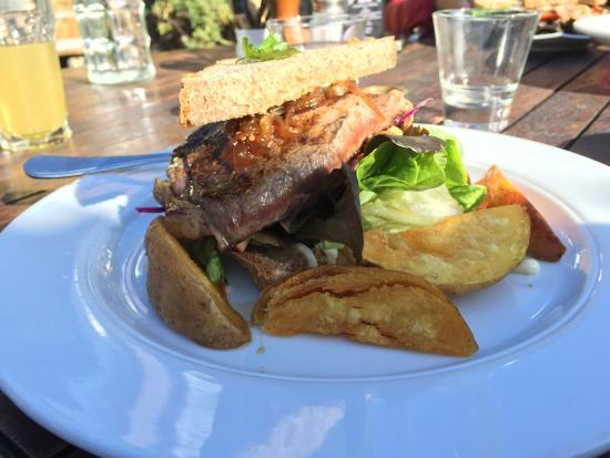 Hislops Wholefood Cafe : Best wedge ever!