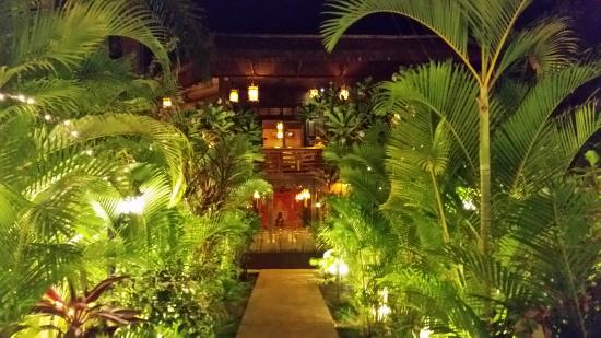 Madame Butterfly is secluded in a flush tropical setting away from the street noise of Siem Reap