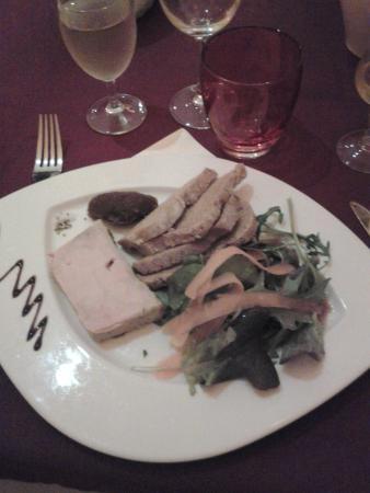 Le nouveau monde : foie gras maison